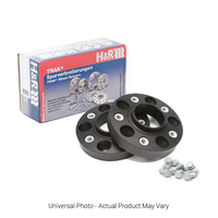 H&R Trak+ DRA Wheel Spacers PAIR 25mm Black - Audi A4,S4 B8/A5,S5 8T/Mercedes C Class W204/C204 Inc AMG