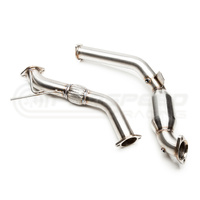 Cobb Tuning Catted Down Pipe - Mustang Ecoboost FM/FN 15-20 (Cobb Cat-Back)