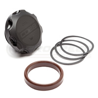 Cobb Tuning Delrin Oil Cap Black - Subaru All Models (EJ20/EJ25)
