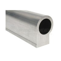 Raceworks Bare Rail Extrusion A-Series 600mm Suits AN-8
