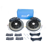 Alcon 6-Piston CAR89 Front Brake Kit - Mitsubishi Evo 4-6