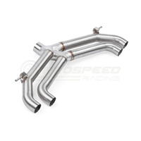 APR Axle Back Exhaust System Non-Valved - VW Golf R Mk7