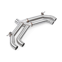 APR Axle Back Exhaust Non-Valved - Audi S3 8V (Sedan)