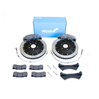 Alcon 4-Piston CRB343 Front Brake Kit - Nissan S13, S14, S15