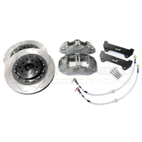 Alcon 4-Piston CRB343 Caliper Upgrade Kit 294x24mm - Subaru WRX/STI/Forester/BRZ/Toyota 86