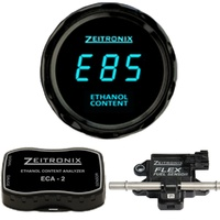 Zeitronix Ethanol Content Analyzer Kit (ECA-2) BLUE Gauge Round Suit BRZ/86 Plug and Play