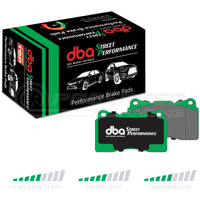 DBA SP Street Performance Front Brake Pads - Skyline GTR/350Z/Integra Type-R (Brembo)