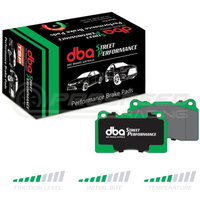 DBA SP Street Performance Front Brake Pads - Ford Focus XR5 Turbo/Mazda 3 MPS BK BL