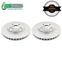DBA Street Series En-Shield Front Rotors PAIR - Lexus IS250 GSE20/IS300h AVE30