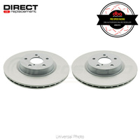 DBA OEM Replacement Front Rotors PAIR - BMW 325i/330i/330ci E46/Z4 3.0si E85/E86