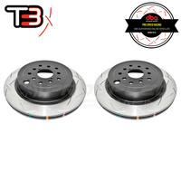 "DBA 4000 Series ""T3"" Rear Rotors PAIR (STI 08-17)"