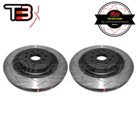 DBA T3 4000 Series Slotted Front Rotors PAIR - Subaru STI VAB 18-19 (6-Piston Brembo)