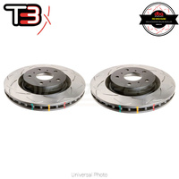 DBA T3 4000 Series Slotted Front Rotors PAIR - Nissan Skyline GT-R R32/R33/R34 (Brembo)