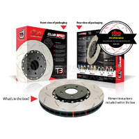DBA T3 5000 2-Piece Front Rotors PAIR - Jeep Grand Cherokee SRT WH/WK2 06-19