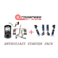 ENTHUSIAST STARTER PACK 2011-14 STI SEDAN / ACCESSPORT/INVIDIA R400 TBE/SILVERS NEOMAX S COILOVERS