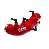 PSR Silicon Turbo Inlet (01-07 WRX/01-18 STI/01-07 FXT) Red Version 2