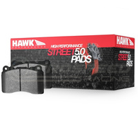Hawk Performance HPS 5.0 Rear Brake Pads - Mazda 3/Ford Focus/Volvo C30/S40/V50