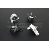 Hardrace Hardened Engine Mount 4Pcs (Street) - Honda Civic EM2, ES1, EP, EU/Integra DC5 Inc Type-R