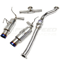 Invidia Dual N1 Catback Exhaust With TI Tips - Nissan 350Z Z33 02-09