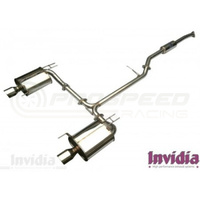 Invidia Q300 Cat back Exhaust - Honda Accord CL Euro 02-08