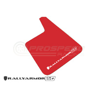 Rally-Armor Universal Mud Flaps Red/white
