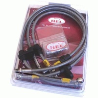 HEL Braided Brake Lines suit Ralliart Lancer (6 Lines total)