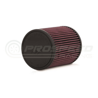 "Mishimoto Performance Air Filter, 2.75"" Inlet, 6.0"" Filter Length Red"