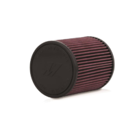 "Mishimoto Performance Air Filter, 2.75"" Inlet, 7.0"" Filter Length, Red"