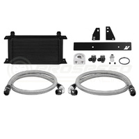 Mishimoto Oil Cooler Kit Black Non-Thermostatic - Nissan 370Z Z34/Skyline V36 Coupe/Infiniti G37 V36 Coupe