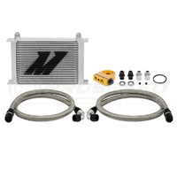 Mishimoto Universal Thermostatic Oil Cooler Kit, 25 Row