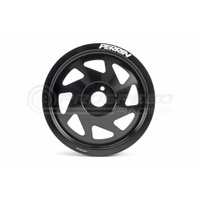 Perrin Crank pulley for BRZ-FR-S, 15-16 WRX, or FA/FB engines Black