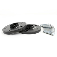 Perrin Wheel Spacers 15mm DRS Style for 05-17 STI or 5-114.3, 56mm Hub Black Anodized