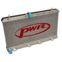 PWR 42mm Performance Aluminium Radiator No Filler 2001-2002 WRX