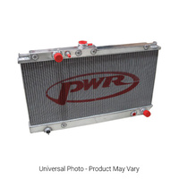 PWR Performance 42mm Aluminium Radiator - Honda S2000 AP1/AP2