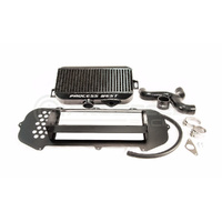 Process West Top Mount Intercooler (suits Subaru 03-05 GD STI) - Black