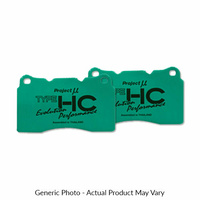 Project Mu REAR BRAKE PADS - HC EVOLUTION PERFORMANCE (S13 SILVIA/180SX/S14/S15 200SX)