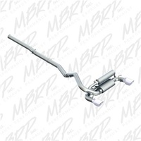 "MBRP 3"" Aluminized Dual Outlet Cat-Back Exhaust - Ford Focus RS LZ 16-17"