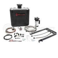 Snow Performance Stage 2 Diesel Boost Cooler Water/Meth Kit w/Gauge Controller - Braided Hose