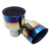 Invidia Q300 Turbo back Exhaust incl O2 Outlet suit EVO X Lancer
