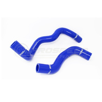 Torque Solution Silicone Radiator Hose Kit (Blue) - Ford Focus RS 2016+