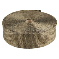 "Torque Solution Exhaust Wrap (Lava): Universal 2"" x 25'"