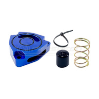 Torque Solution Blow Off BOV Sound Plate Blue - Hyundai Veloster Turbo FS 11-19