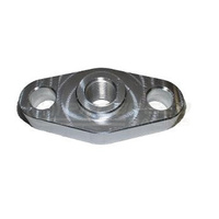 Torque Solution Billet Oil Feed Inlet Flange - Universal T3/T4 Turbos