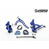 Wisefab Nissan S14 V2 Lock Kit with Rack Offset Spacers FRONT